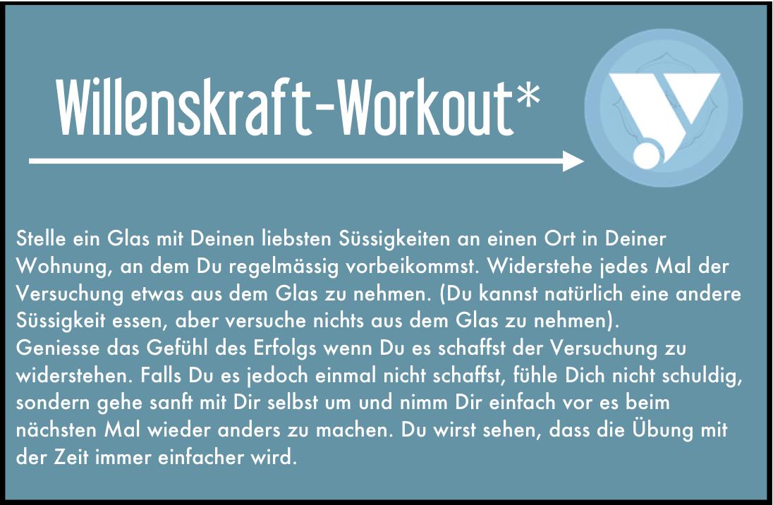 Willenskraft-Workout